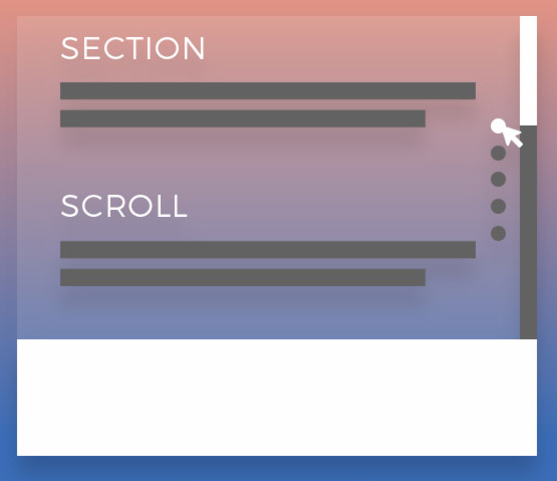 Smooth scrolling between sections of Web page jQuery | PHP