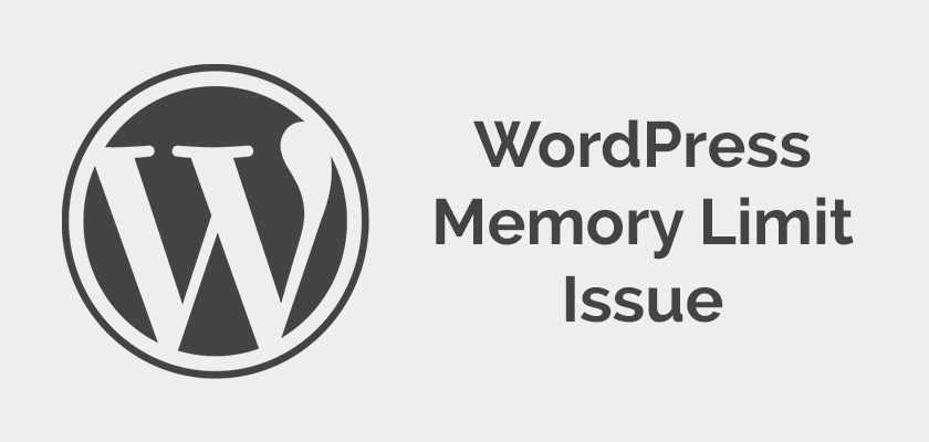 Fix:  Fatal error: Allowed memory size – Increase PHP Memory